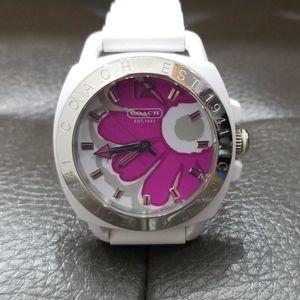 COACH Pink Floral Watch